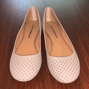 Brand New Lucky Brand Everlee Perforated Flats - 7